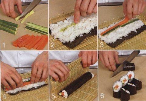 тунец как сделать запеченные суши дома пошагово фото рогатый скот