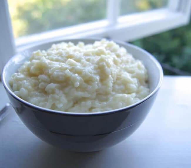 Рисовая каша для детей