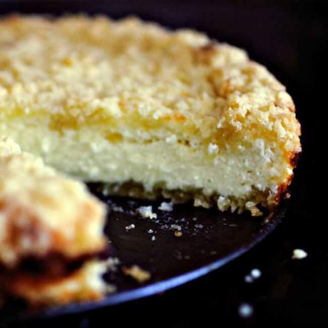 Пирог с крошкой