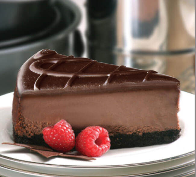 Чизкейк из шоколада