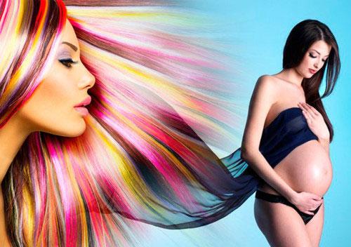 Можно ли красить волосы при беременности?