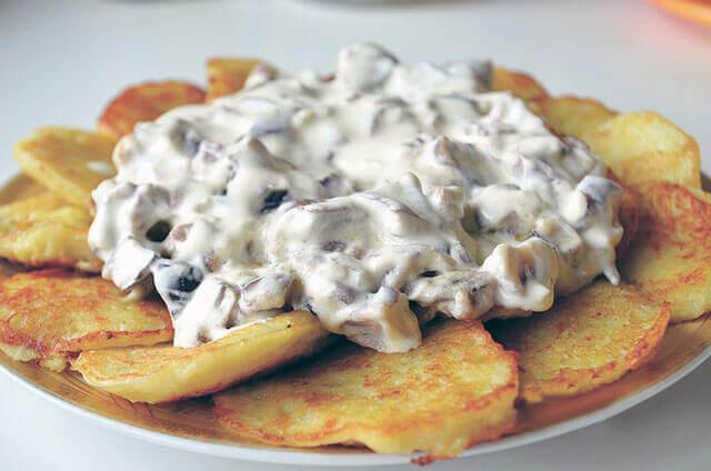 Соус для картофельных драников