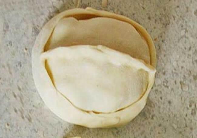 Манты по традиционной лепке