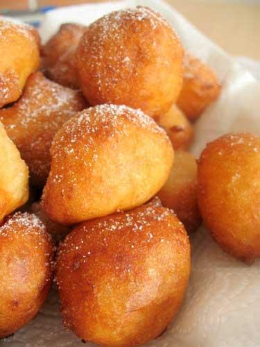Сметанные пончики