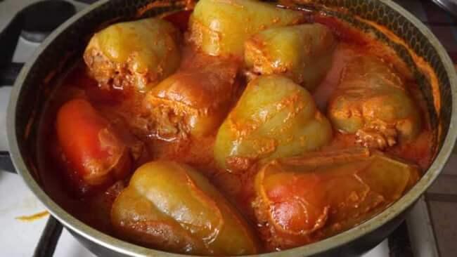 Соусы для фаршированных перцев